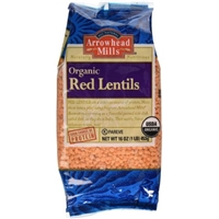 Arrowhead Mills Organic Red Lentils Food Product Image