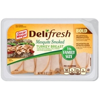 Oscar Mayer Deli Fresh Mesquite Turkey Breast Family Size Food Product Image