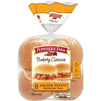 Pepperidge Farm Bakery Classics Hamburger Buns Golden Potato - 8 CT Food Product Image