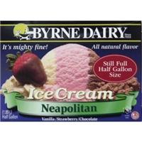 Byrne Dairy Neopolitan Ice Cream Half Gallon Allergy And Ingredient
