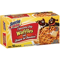 Special Value Waffles Special Value Chocolate Chip Waffles Food Product Image