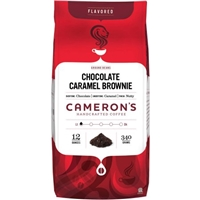 Cameron's Chocolate Caramel Brownie Ground Coffee Food Product Image