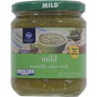 Kroger Tomatillo Salsa Verde - Mild Food Product Image