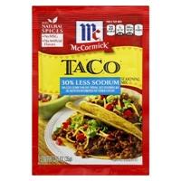 McCormick Taco Seasoning Mix 1.25 oz Food Product Image