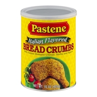 Pastene Italian Flavored Bread Crumbs Food Product Image