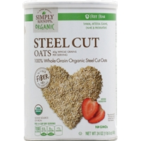 Simply Roundy's Organic Steel Cut Oats Food Product Image