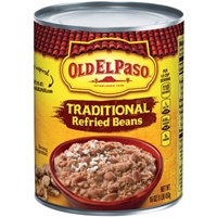 Old El Paso Traditional Refried Beans Food Product Image