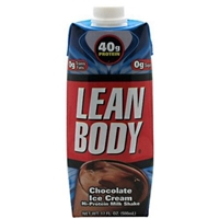 Labrada Nutrition Lean Body RTD Chocolate Ice Cream - 12-17 fl oz. (500mL) Food Product Image