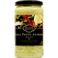Private Selection Basil Pesto Alfredo Cream Sauce Food Product Image