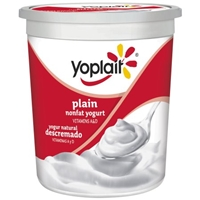 Yoplait Yogurt Nonfat, Plain Food Product Image