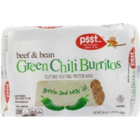 Kroger Value Green Chili Burritos Food Product Image