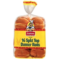 Stroehmann Rolls Split Top Enriched Dinner Rolls Food Product Image