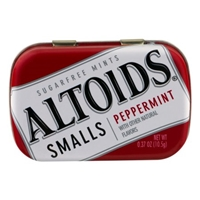 Altoids Smalls Sugar-Free Mints Peppermint Food Product Image