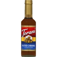 Torani Salted Caramel Syrup Food Product Image