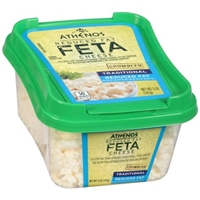 Athenos Feta Cheese Traditional Reduced Fat Food Product Image