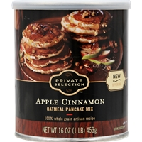 Private Selection Apple Cinnamon Oatmeal Pancake Mix Food Product Image
