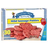 Odom's Tennessee Pride Mild Sausage Patties - 30 CT Food Product Image