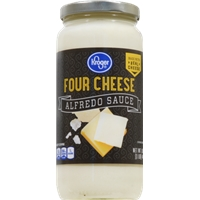 Kroger Four Cheese Alfredo Sauce Food Product Image