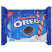 Nabisco Oreos Peppermint Creme Food Product Image