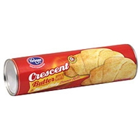 Kroger Dinner Rolls Crescent, Butter Food Product Image