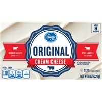 Kroger Cream Cheese Food Product Image