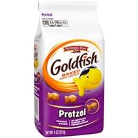 Pepperidge Farm Goldfish Pretzel Baked Snack Crackers Food Product Image