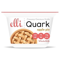 Elli Quark Apple Pie Whole Milk Food Product Image