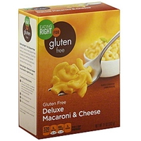 Eating Right Macaroni & Cheese Gluten Free, Deluxe Food Product Image