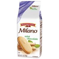 Pepperidge Farm Milano Mint Chocolate Food Product Image