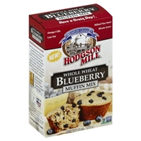 Hodgson Mill Whole Wheat Blueberry Muffin Mix Food Product Image