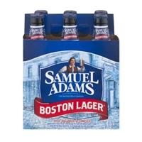 Samuel Adams Boston Lager Beer Bottles - 6 CT Food Product Image