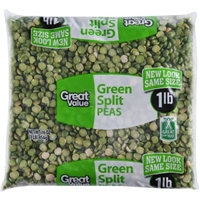 Great Value Peas Green Split Product Image