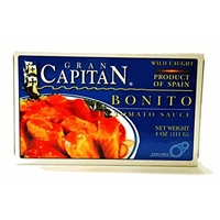 Grain Capitan Grain Capitan, Bonito In Tomato Sauce Food Product Image