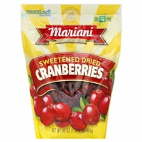 Mariani Sweetened Dried Cranberries Food Product Image