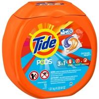 Pods He Laundry Detergent Ocean Mist Food Product Image