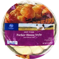 Kroger Parker House Style Yeast Dinner Rolls Food Product Image