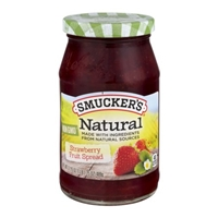 Smucker's Natural Fruit Spread Strawberry Food Product Image