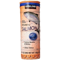 Kirkland Altlantic Salmon-7 oz, 6 ct Food Product Image