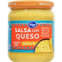 Kroger Salsa Con Queso Cheese Dip - Medium Food Product Image