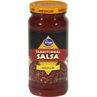 Kroger Traditional Salsa - Medium Food Product Image