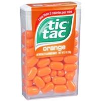 Tic Tac Orange Mints Food Product Image